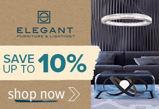 Save up to 10% on Elegant Lighting