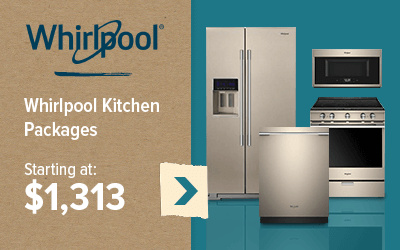 Whirlpool Kitchen Packages starting at $1,313