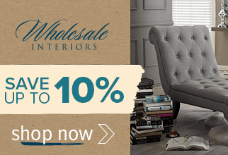 Save up to 10% on Wholesale Interiors