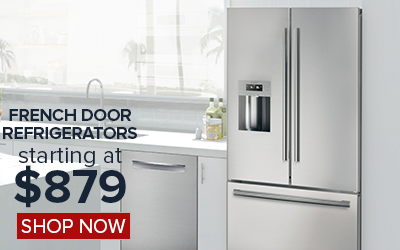 Shop French Door Refrigerators Starting at $1299