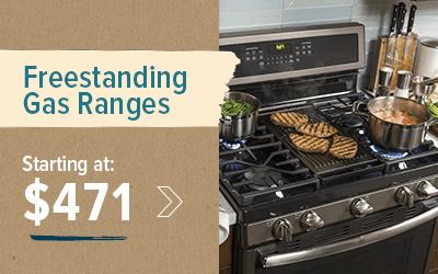 Shop Freestanding Ranges Starting at $471