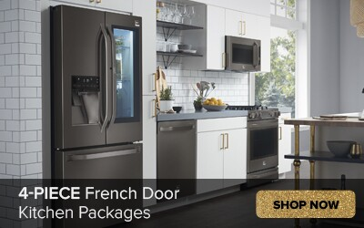 4 Piece French Door Kitchen Packages