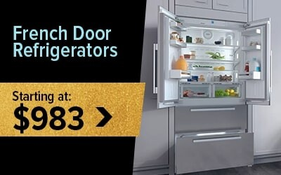 Shop French Door Refrigerators Starting at $983