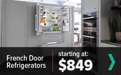 Shop French Door Refrigerators Starting at $849