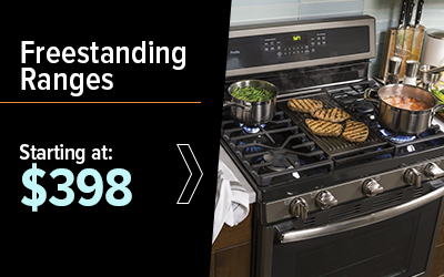 Shop Freestanding Ranges Starting at $398