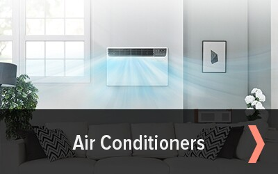 Shop air conditioners starting at $139