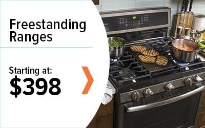 Shop Freestanding Ranges Starting at $398