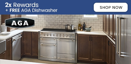 AGA/Marvel 2x Rewards + Free Dishwasher