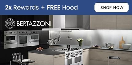 Bertazzoni 2x Rewards + Free Hood
