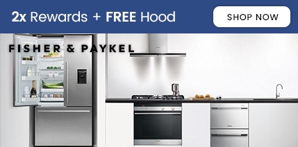 Fisher and Paykel 2x Rewards + Free Hood