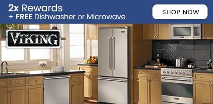 Viking 2x Rewards on Range Purchase + Free Dishwasher and Microwave