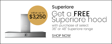 SUPERIORE Free Range Hood Promo