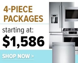4 piece kitchen appliances packages