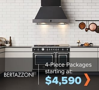 Bertazzoni 4-Piece Packages starting at $4,590