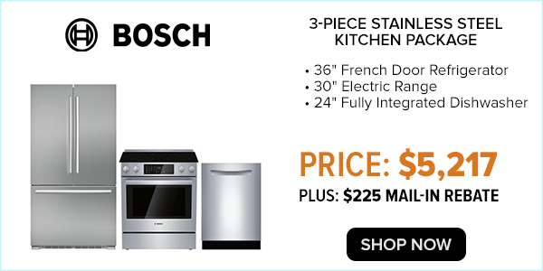 bosch 3 piece kitchen package $5217