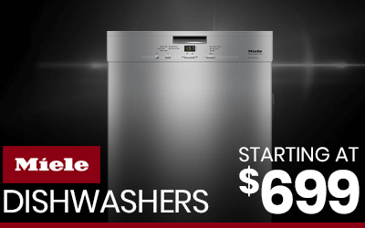 Shop Miele Dishwashers Starting at $699