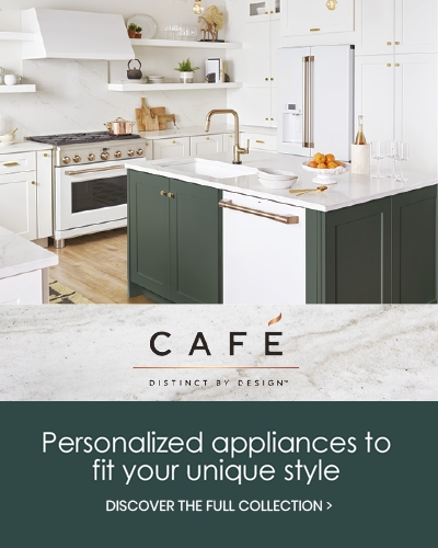 GE Cafe personalized appliances to fit your unique style