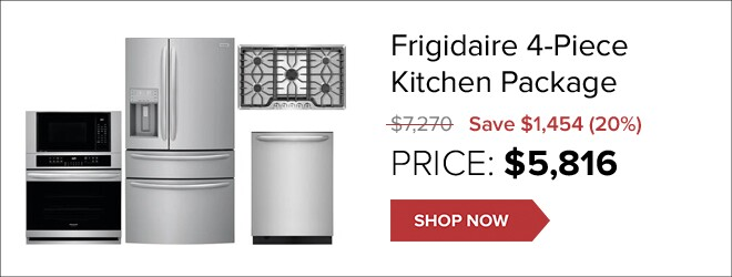 Frigidaire Kitchen Package for only $5,816. Shop Now.