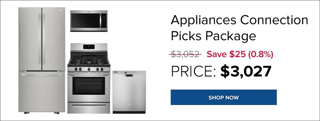 Appliances Connection Picks Package for only $3,027. Shop Now.