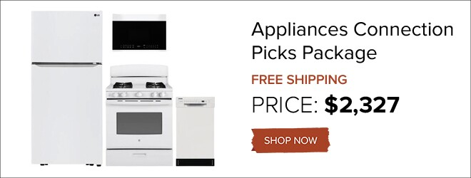 Appliances Connection Picks Package for only $2,192. Shop Now.