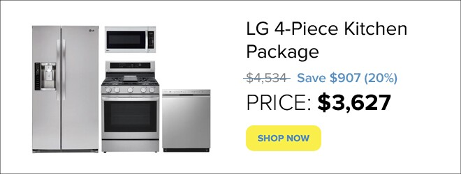 Appliances Connection Picks Package for only $3,729.