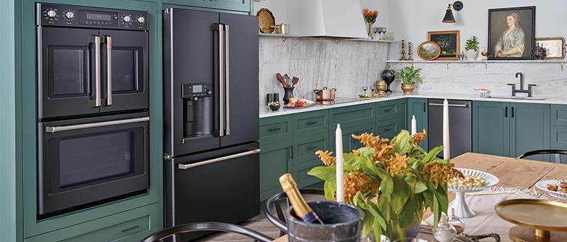 Bottom Freezer Refrigerator Lifestyle Image