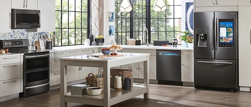 4-Piece Kitchen Appliance Package