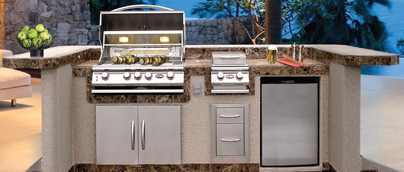 Cal Flame PV7000 Kitchen Island Package