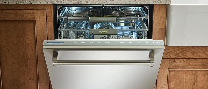Dishwasher Door Grime Removal