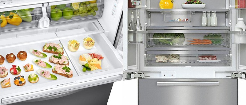 Seperate Refrigeration and Freezing Systems