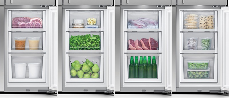 Fisher & Paykel RF203QDUVX1 Variable Temperature Compartment