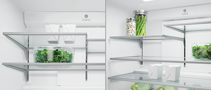Fisher & Paykel RF203QDUVX1 Flexible Shelf Storage