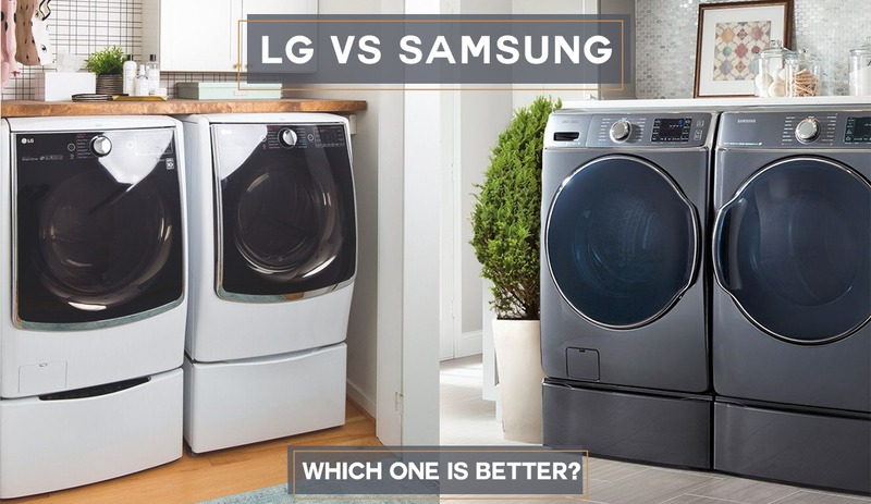 LG vs Samsung Washers & Dryers - Which One is Better in 2021
