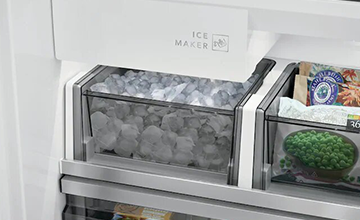 Built-In Glide Out Icemaker