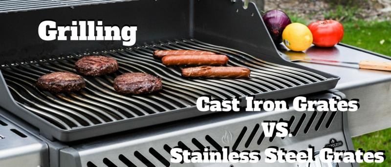 Cast Iron Grates Vs Stainless Steel Grates Appliances Connection
