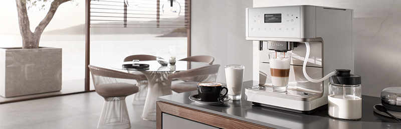 Miele CM6 MilkPerfection Countertop Coffee Machine
