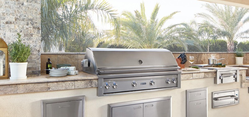outdoor kitchen finishes