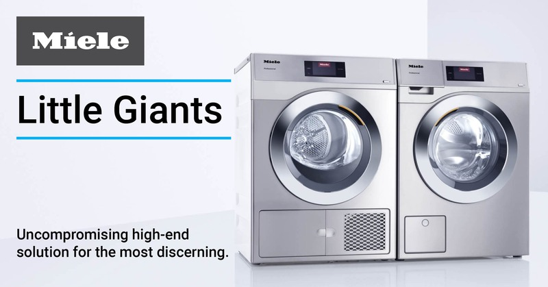 Introducing Miele Little Giants Series Washers and Dryers