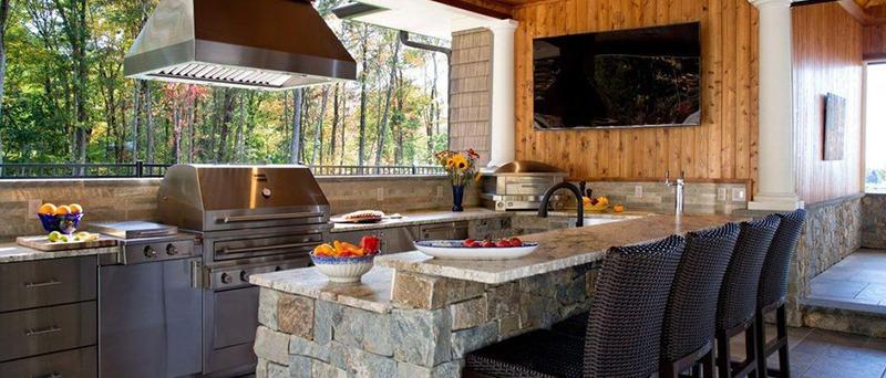 Outdoors-Style Kitchen