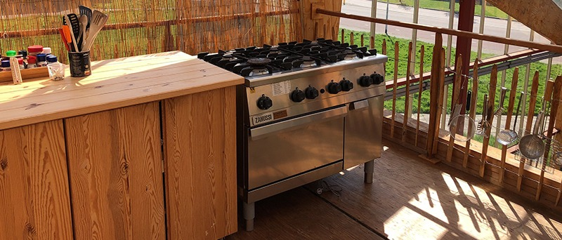 Timber Outdoor Kitchen