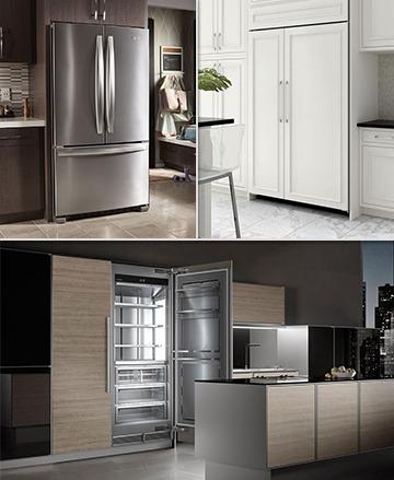 Full-Size Refrigerator Installation Types