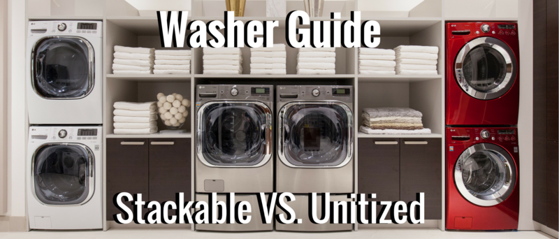 Washer Guide - Stackable Vs. Side-by-Side