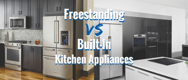 Freestanding Vs Built In Kitchen Liances Connection