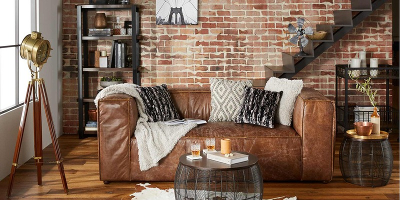 9 Elements to Design Industrial Style Living Rooms