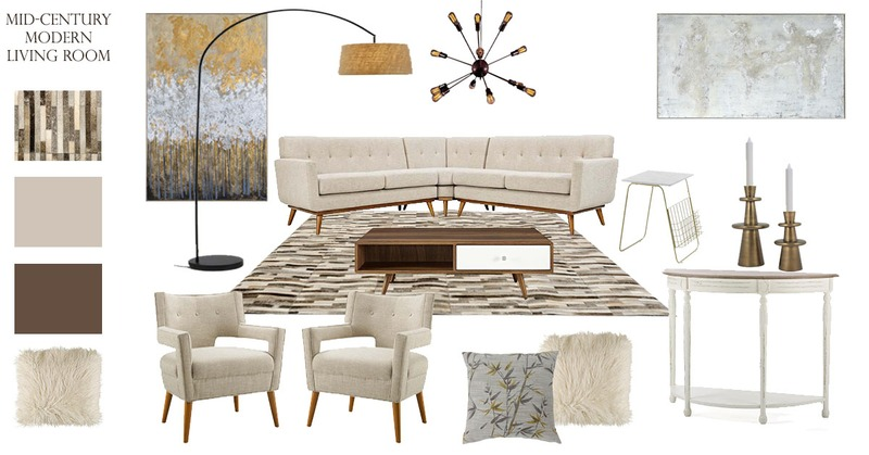 Five Must-Know Facts About Mid-Century Modern Living Room