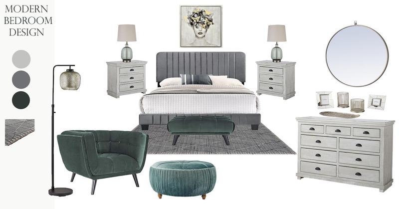Modern Bedroom Design Ideas for a Master Suite