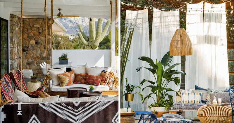 Tips to Bring Boho Vibes to Your Outdoor Space