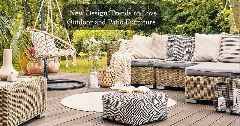 Discovering the 2021 Trends of Outdoor Furniture
