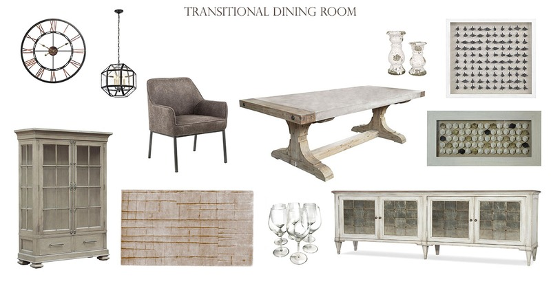8 Steps for Transitional Dining Room
