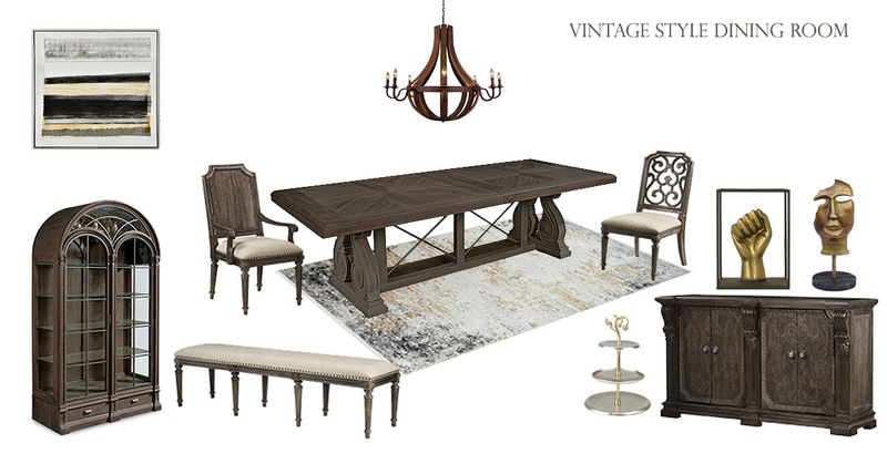 7 Creative Ways to Style a Vintage Dining Room